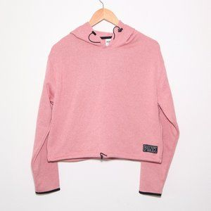 PINK Hoodie with Cinch Waist Size S. NWT!